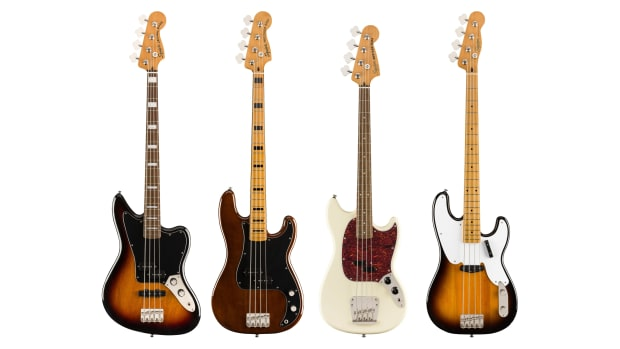 New Squier Basses