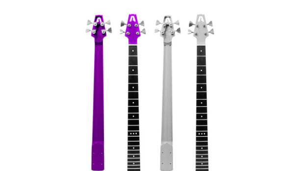 aluminim bass necks