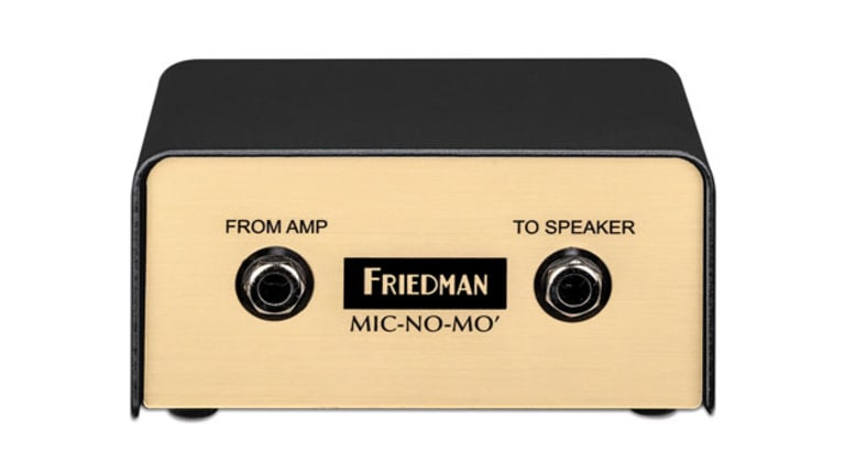 Friedman Amplification Unveils the Mic-No-Mo DI Box