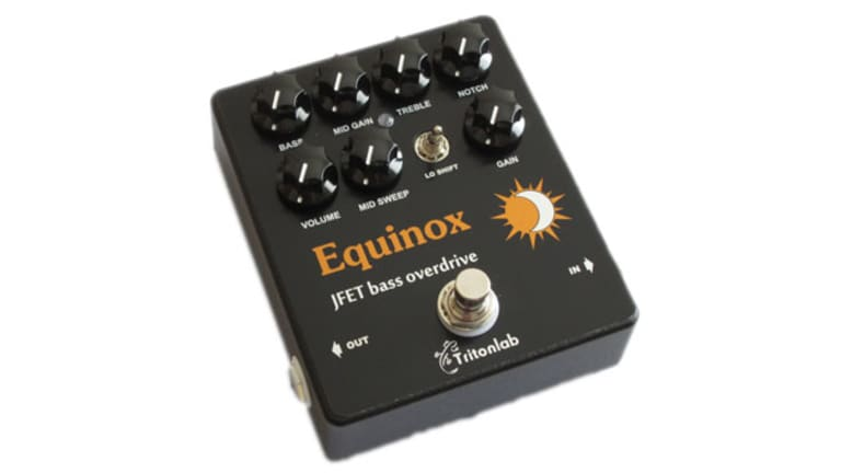 Tritonlab Unveils the Equinox Bass Preamp/Overdrive