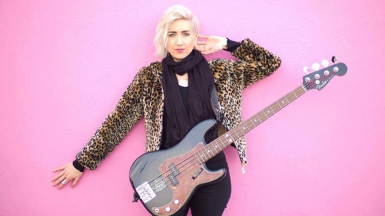 Pink Bassist Eva Gardner Talks Performing Wirelessly With Lectrosonics