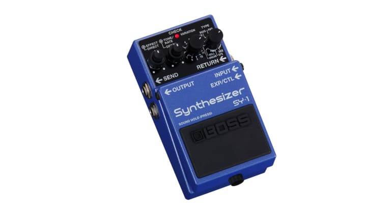 Boss Introduces the Impressive SY-1 Synth Pedal