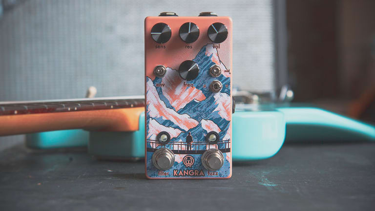 Walrus Audio Reveals the Kangra Filter Fuzz