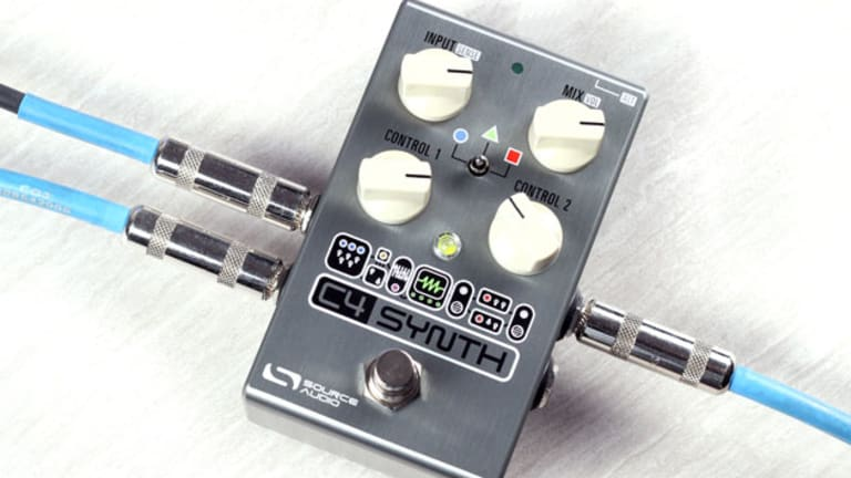 Source Audio Unveils the C4 Synth Pedal