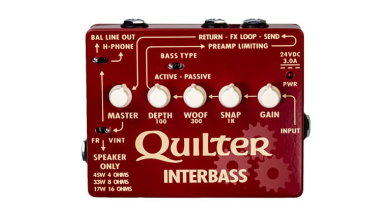 Quilter Labs Releases the InterBass