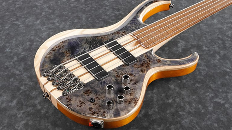 Ibanez Releases New Fretless Series BTB Basses