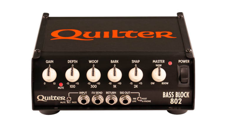Quilter Labs Releases New Bass Block 802 Head