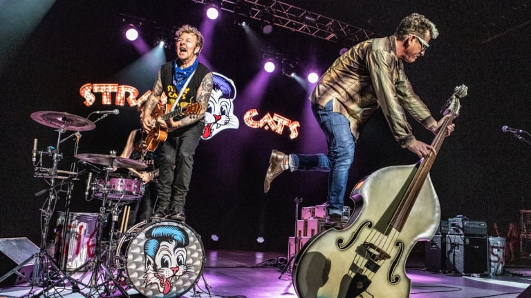 "The Stray Cats Release New Music Video For ""Desperado"""