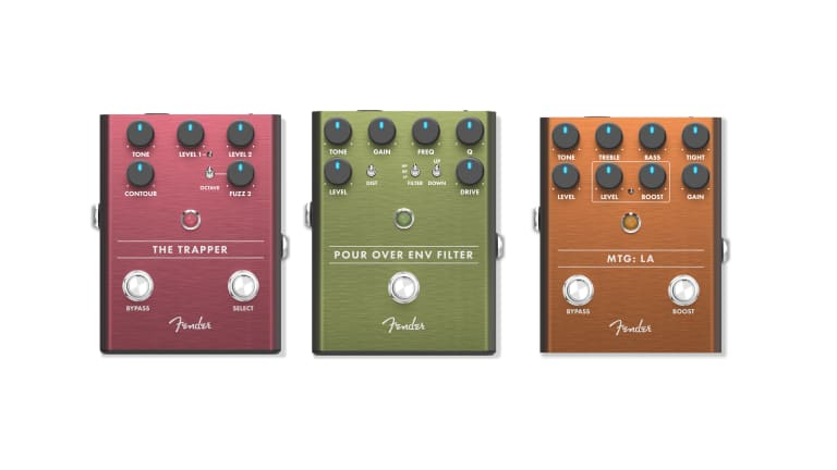 Fender Launches New Series of Pedals