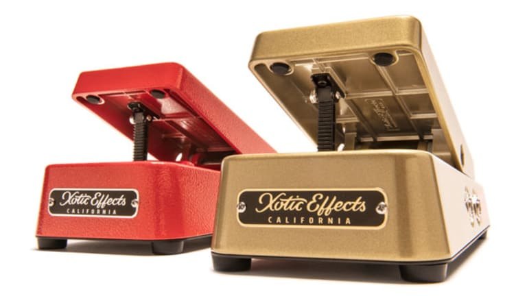 Xotic Effects Unveils New Line of Volume Pedals