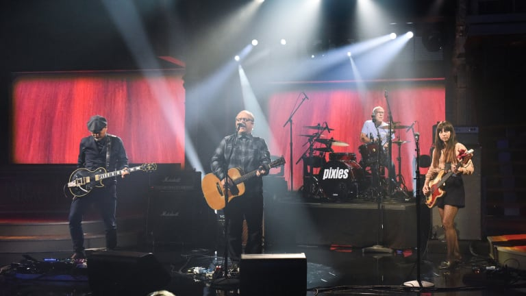 Pixies Announce Encore Performance on The Late Show With Stephen Colbert