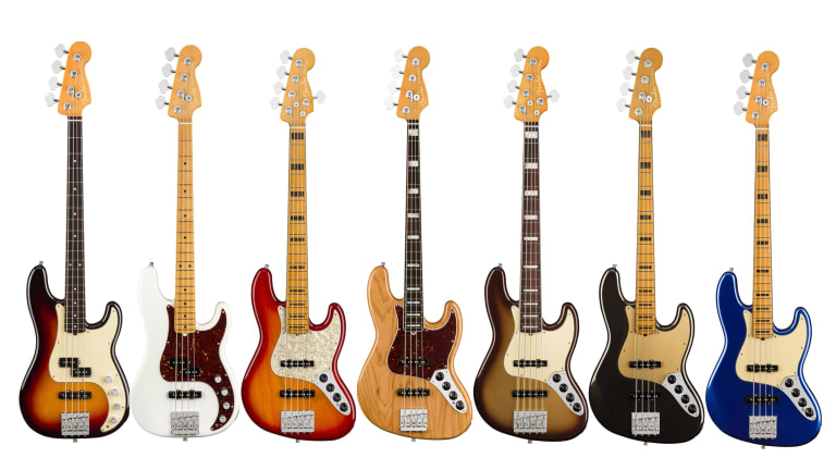 Fender Launches New American Ultra Series of Basses