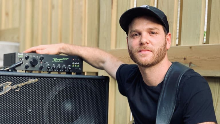 Bergantino Audio Systems Welcomes Frederick Reisen to Their Family of Artists