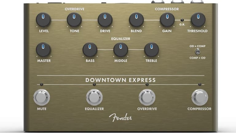 Review: Fender Downtown Express Bass Multi-Effect Pedal