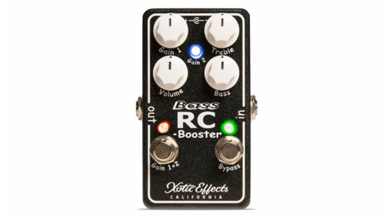 Xotic Announces the Bass RC Booster V2