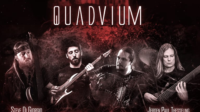 Jeroen Paul Thesseling and Steve Di Giorgio's Band QUADVIUM Completes Line Up