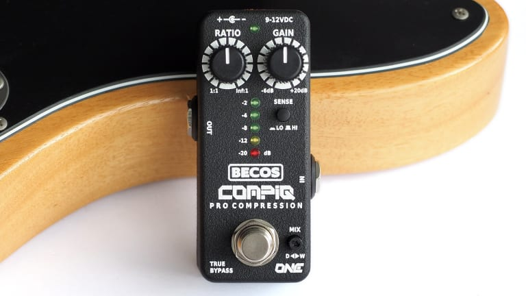 Becos Effects Releases the CompIQ MINI ONE Pro Compressor