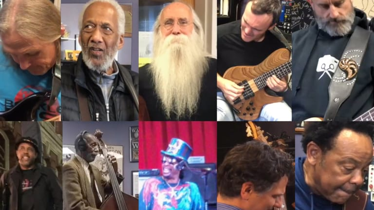 Berklee Bass Department Releases Holiday 2019 Video Featuring Ron Carter, Steve Bailey, Justin Chancellor, Victor Wooten, and More