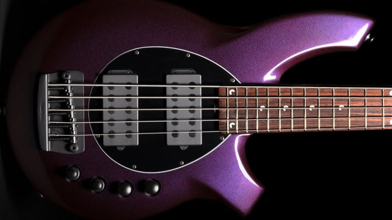 Ernie Ball Adds New Music Man Basses to Their Vault Collection