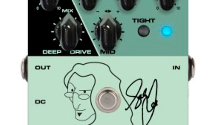 Tech 21 Again Partners with Geddy Lee for Signature SansAmp YYZ Pedal