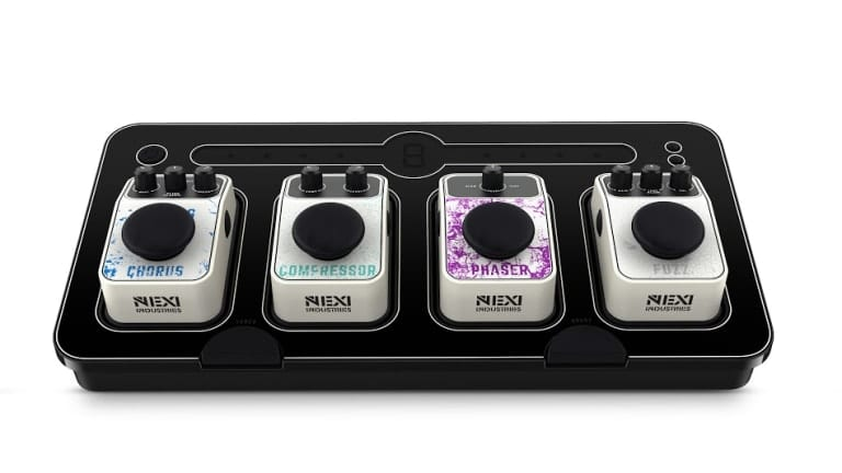 NEXI Industries Introduces NEXI Bass Pedalboard with Click-'n-Play Convenience