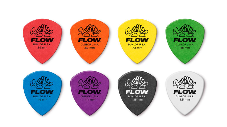 Dunlop Introduces New Series of Flow Picks and Bass Straps