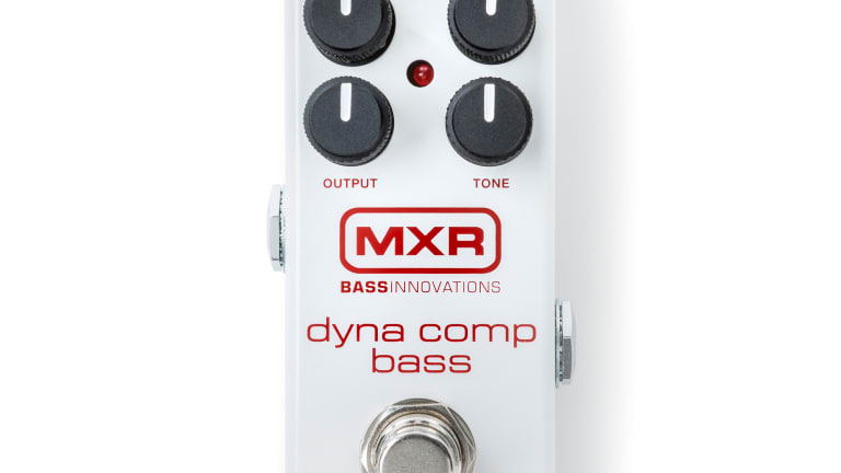 MXR Announces Dyna Comp Bass Compressor