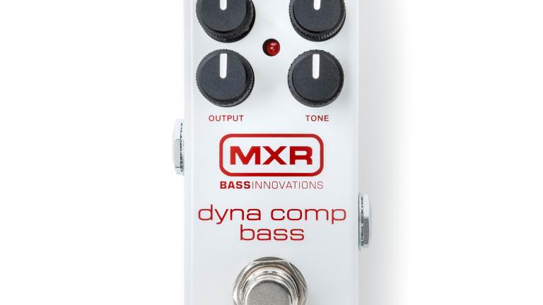MXR Announces Dyna Comp Bass Compressor