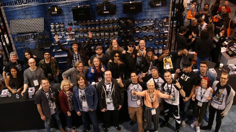 Warwick Wins NAMM Show 2019 Best In Show Award For Their RockBoard