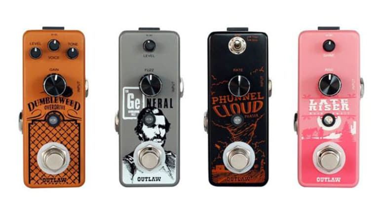 Outlaw Effects Releases Four New Pedals