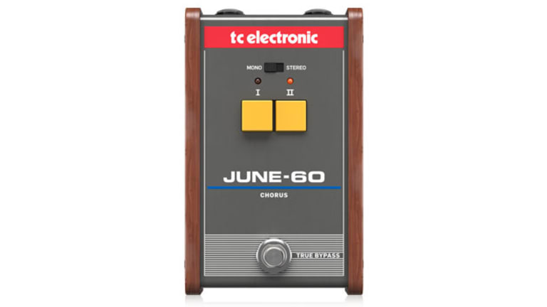 TC Electronic Unveils the JUNE-60 Chorus