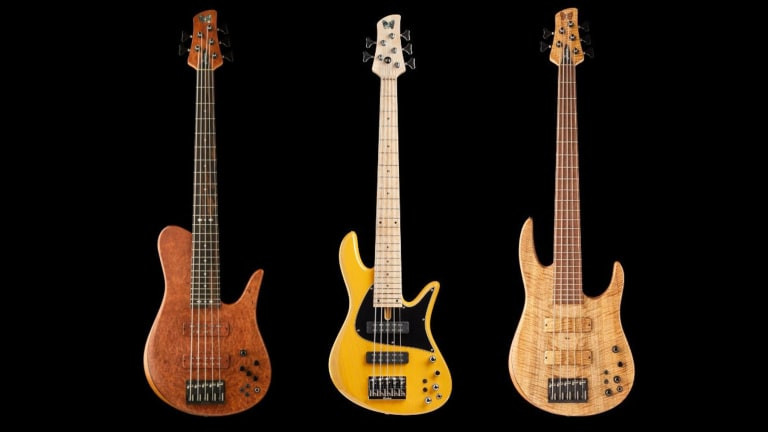 Fodera Offers Available Elite and Classic Bass Models