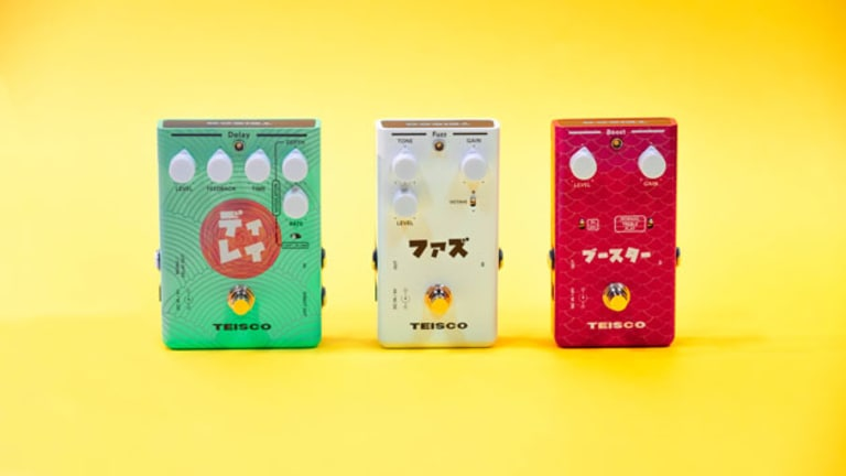 Teisco Announces New Delay, Fuzz, and Boost Pedals