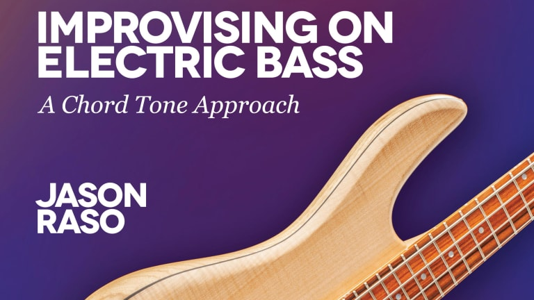 "Jason Raso Releases New Book, ""Improvisation on Electric Bass"""
