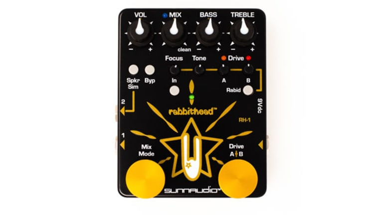 Sunnaudio Releases the Rabbithead RH-1 Analog Preamp Overdrive