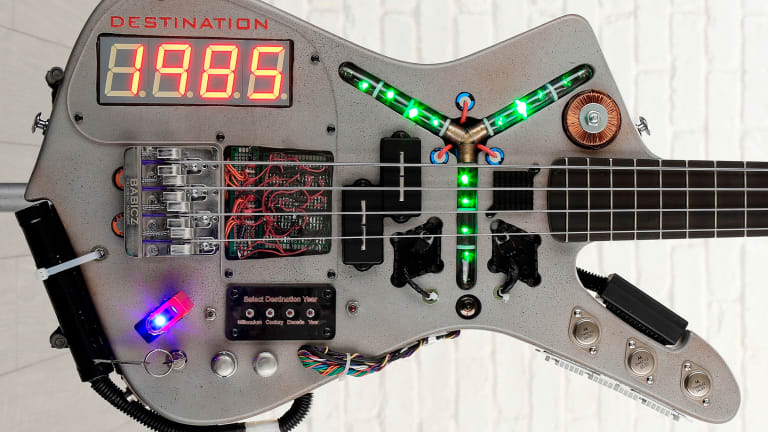 Doner Designs Time Machine Bass Sale to Benefit Parkinson's Research