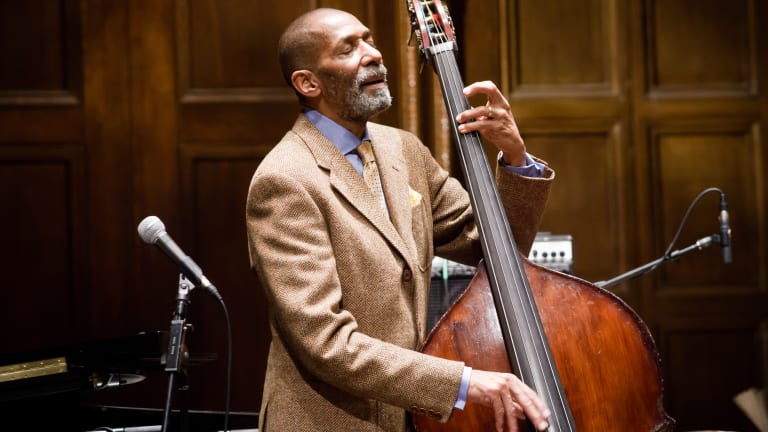 Ron Carter and Danny Simmons Announce The Brown Beatnik Tomes - Live at BRIC House
