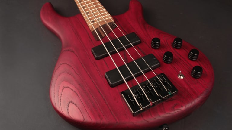 Cort Releases the B4 Plus AS RM Bass Series