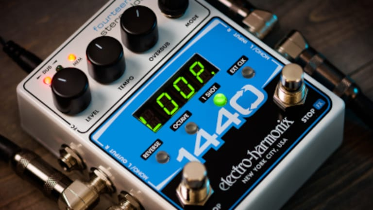Electro-Harmonix Introduces the 1440 Stereo Looper