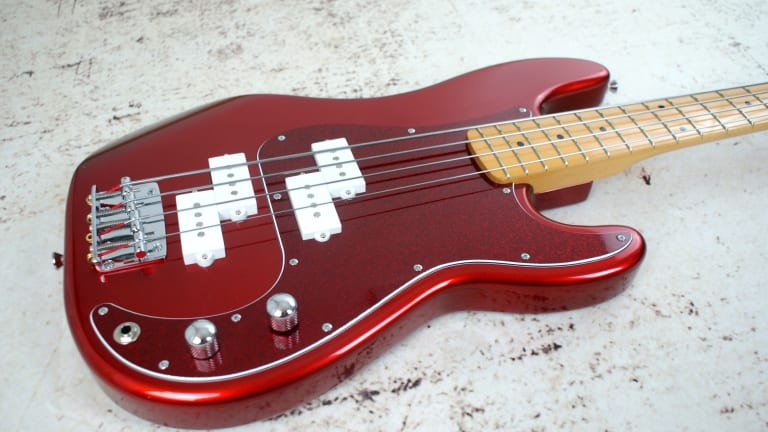 Bite Guitars Releases The PP Double Precision Bass