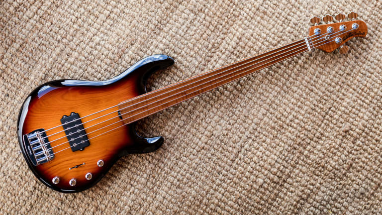 Ernie Ball Releases New Family Reserve Fretless StingRay 5 Special