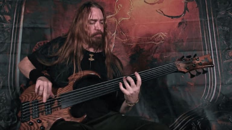 "Watch Steve Di Giorgio's Bass Playthrough of Terra Odium's ""Crawling"""
