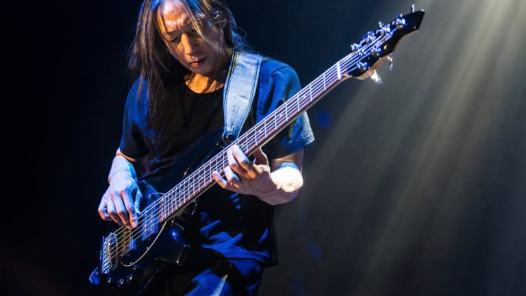Listen to the Ernie Ball Podcast Striking A Chord with John Myung of Dream Theater