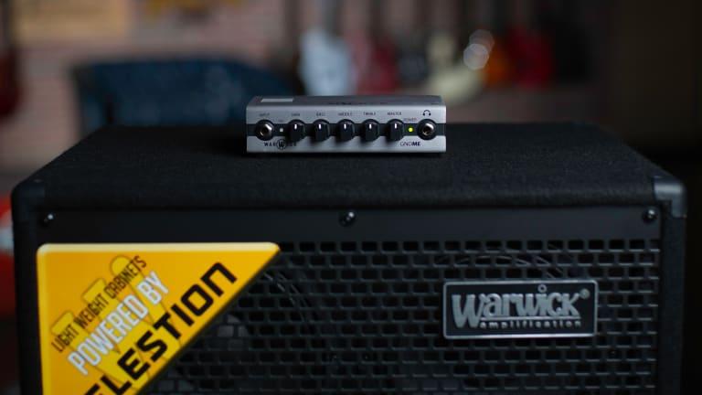Warwick Announces New Gnome, Gnome i & Gnome i Pro Pocket Bass Amp Heads