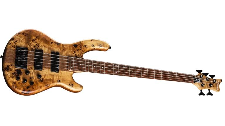 Dean Guitars Introduces Edge Select Burled Poplar Satin Natural Bass
