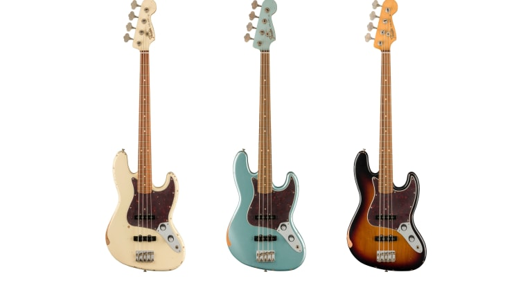 Fender Releases New 60th Anniversary Road Worn Jazz Bass