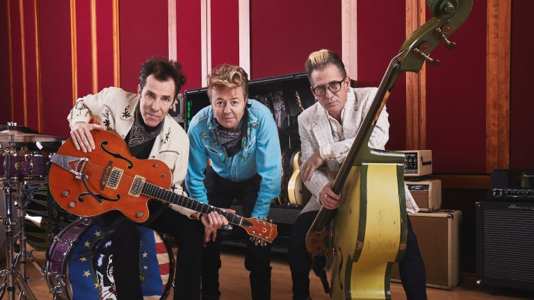 The Stray Cats Release New Live Album 'Rocked This Town: From LA To London'