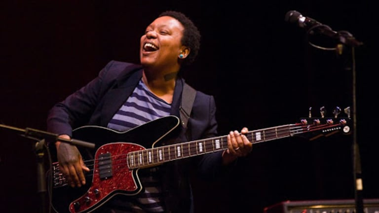 "Meshell Ndegeocello Plays on Cover of Beatle's ""Yesterday"" With Dave Koz"