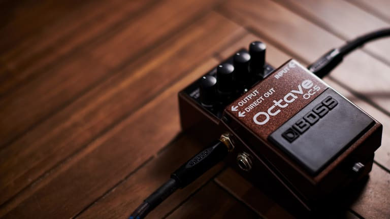BOSS Announces the Highly Anticipated OC-5 Octave Pedal