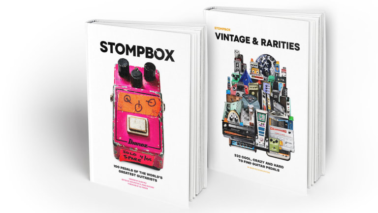 Eilon Paz to Release Two Books on The History of Guitar Pedals